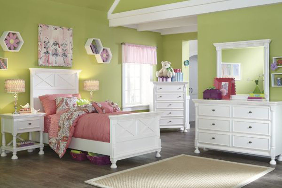 Picture of KASLYN TWIN PANEL BEDROOM SET