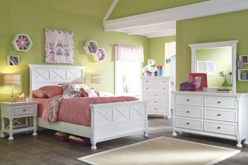 Picture of KASLYN FULL PANEL BEDROOM SET