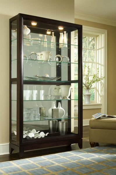 Picture of TWO WAY SLIDING DOOR CURIO