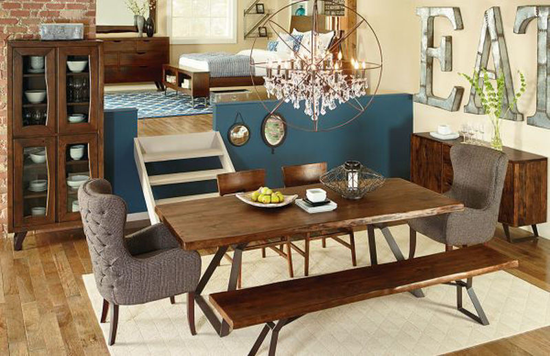 Picture of MELBOURNE LIVE EDGE DINING SET