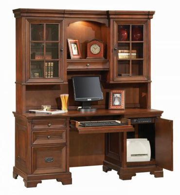 Picture of RICHMOND COMPUTER CREDENZA AND HUTCH