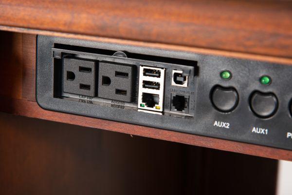 Picture of RICHMOND COMPUTER CREDENZA AND HUTCH