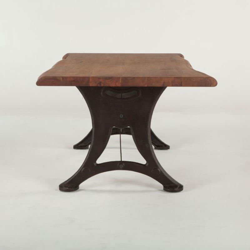 Picture of RUSTIC FORGE LIVE EDGE DINING TABLE