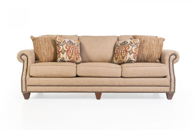 Picture of RUNAROUND BEIGE UPHOLSTERED SOFA