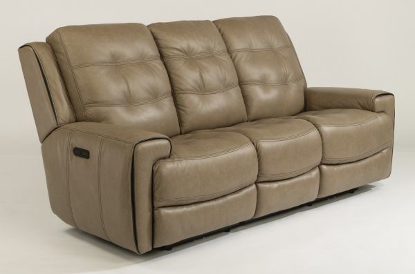 Picture of WICKLOW LEATHER POWER RECLINING SOFA