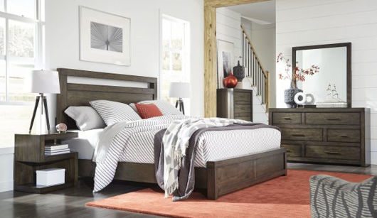 Picture of MODERN LOFT QUEEN BEDROOM SET
