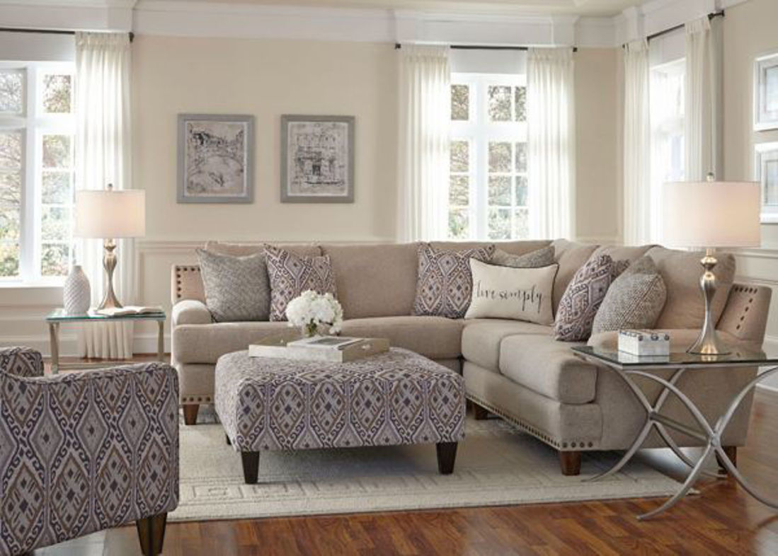 Picture of ANNA UPHOLSTERED SECTIONAL