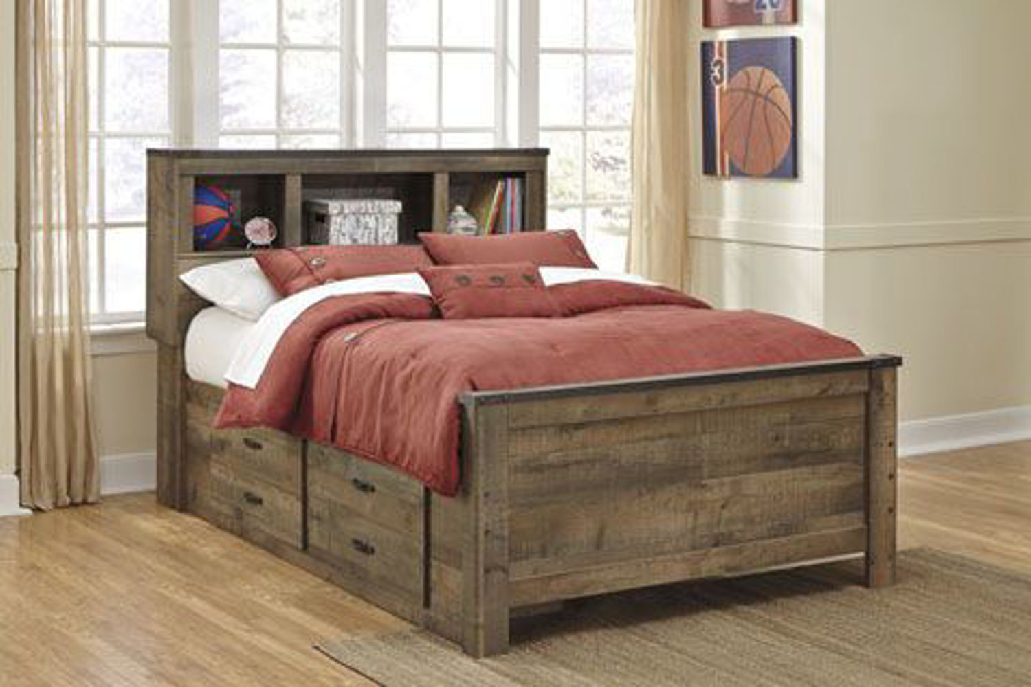 Picture of TRINELL FULL STORAGE BED
