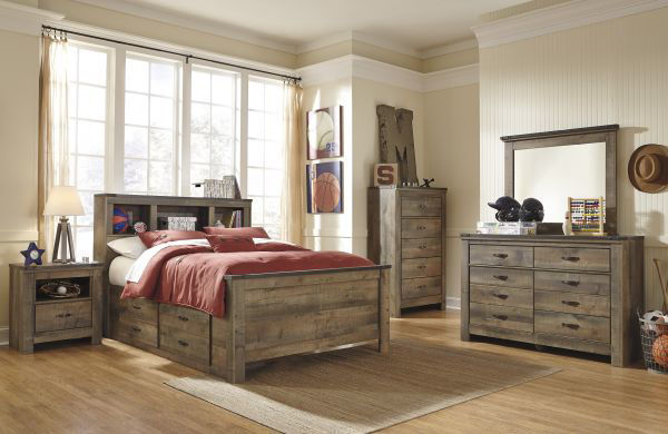Picture of TRINELL FULL STORAGE BEDROOM SET