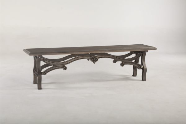 Picture of FOUNDRY SOLID WOOD DINING BENCH