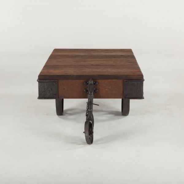 Picture of URBAN INDUSTRIAL SOLID WOOD COFFEE TABLE