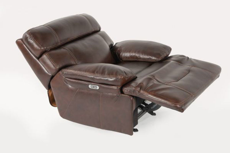 Picture of COMFORT ZONE ALL LEATHER ROCKER RECLINER