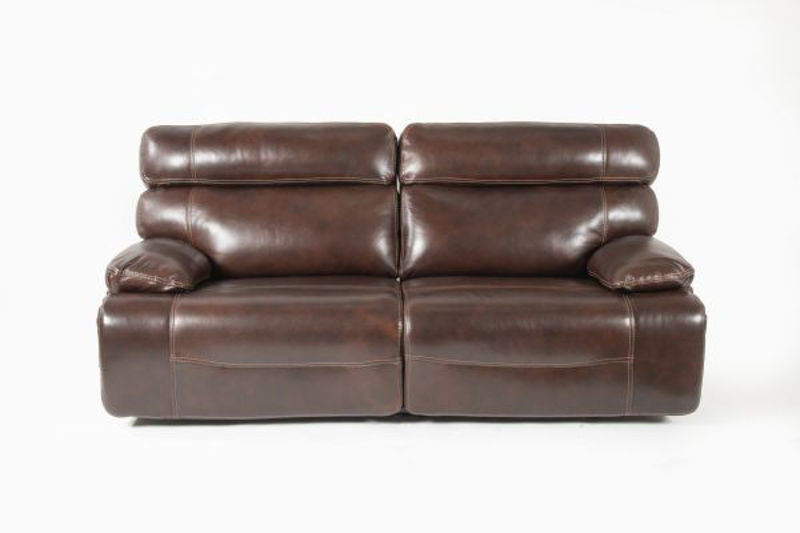 Picture of COFFEE ALL LEATHER POWER RECLINING SOFA