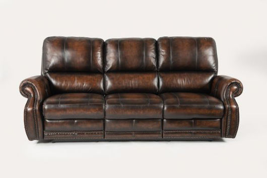 Picture of HILLSBORO ALL LEATHER POWER RECLINING SOFA
