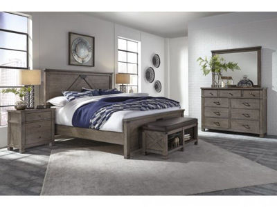 Picture of TUCKER KING PANEL BEDROOM SET