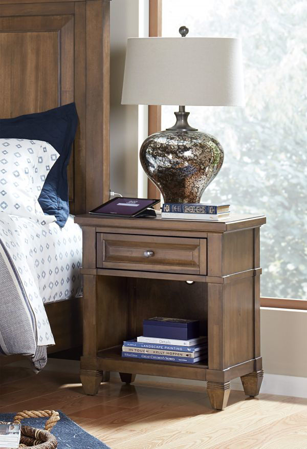 Picture of THORNTON ONE DRAWER NIGHTSTAND