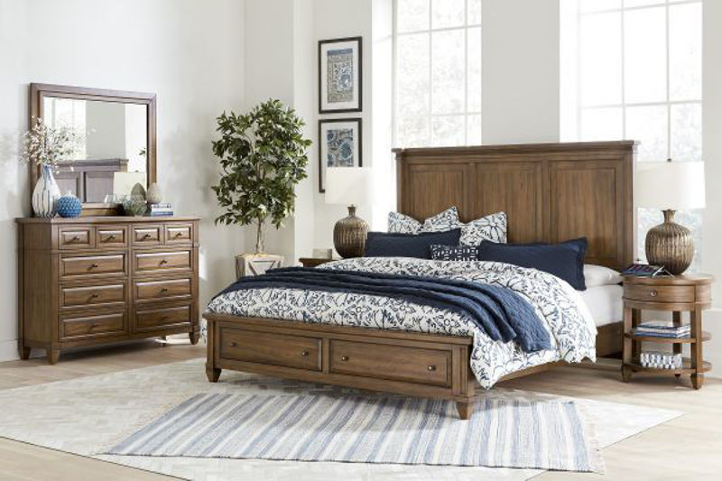 Picture of THORNTON QUEEN STORAGE BEDROOM SET