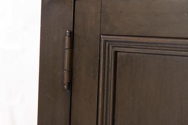 Picture of OXFORD PEPPER.CORN DOOR BOOKCASE