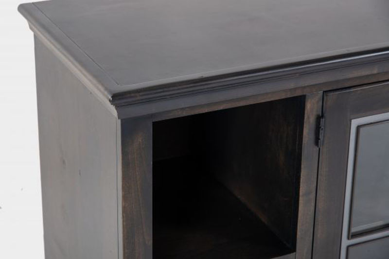 "Picture of CHURCHILL GHOST BLACK 96"" TV CONSOLE"