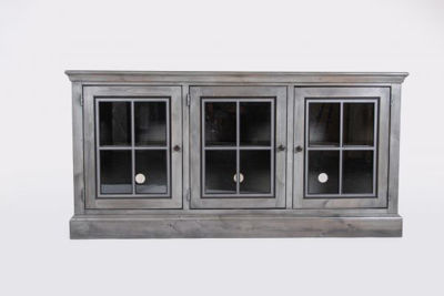 "Picture of CHURCHILL 66"" GRAY TV CONSOLE"