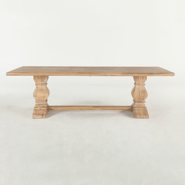 """Picture of CORDOBA SOLID WOOD 108"""" DINING TABLE"""