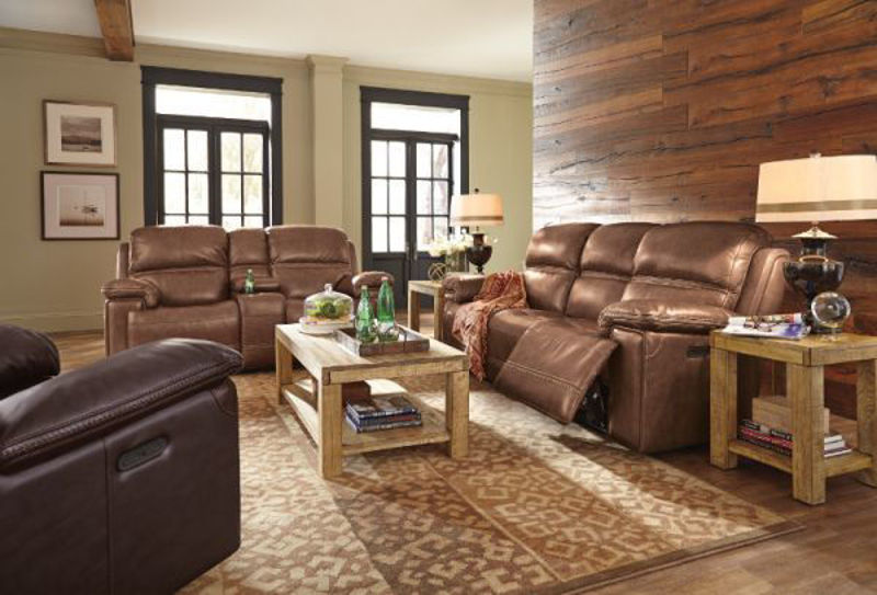 Picture of FENWICK LEATHER POWER RECLINING SET
