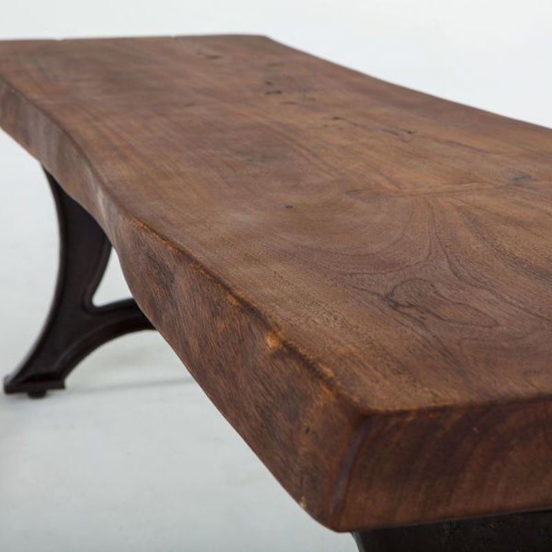 Picture of RUSTIC FORGE LIVE EDGE BENCH