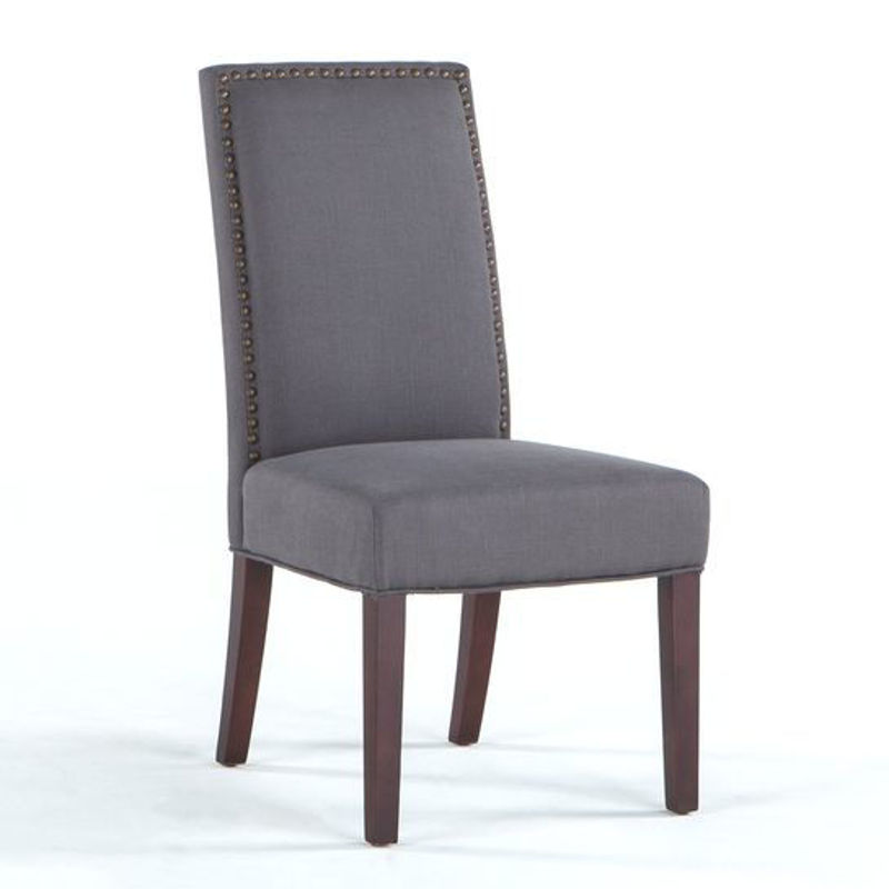 Picture of JAMES DARK GRAY SIDE CHAIR