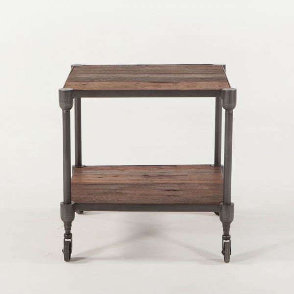 Picture of URBAN INDUSTRIAL SOLID WOOD END TABLE