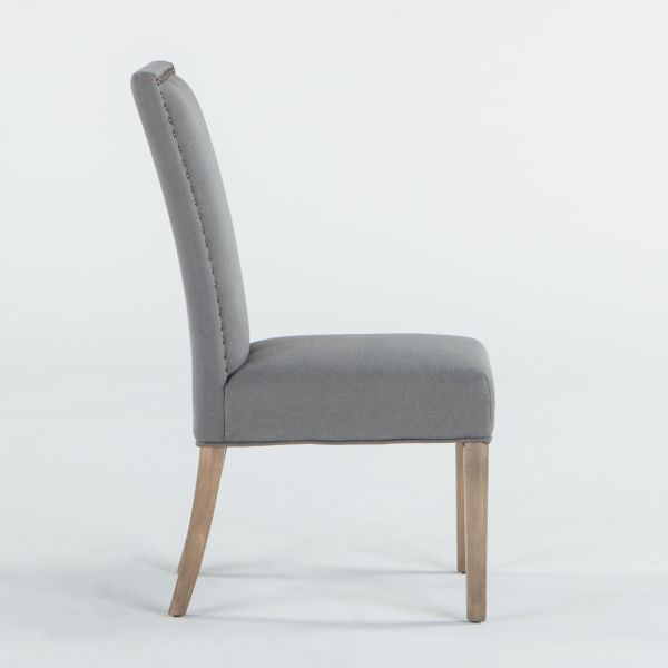 Picture of JAMES WEATHERED GRAY SIDE CHAIR