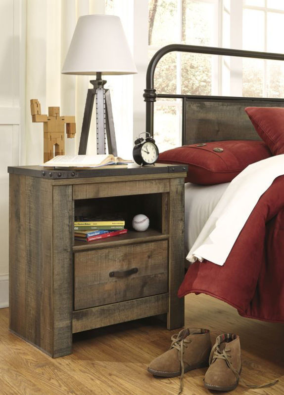 Picture of TRINELL TWIN STORAGE BEDROOM SET