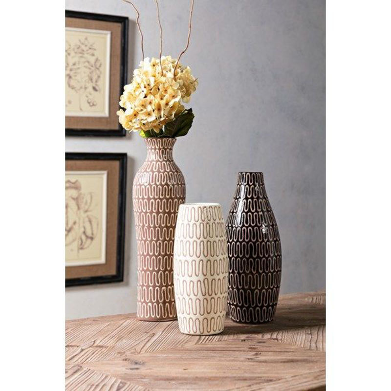 Picture of TOLEK VASE SET OF 3
