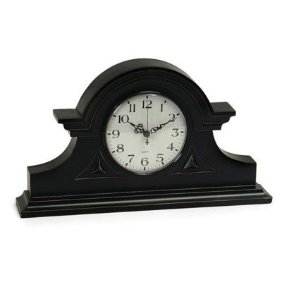 Picture of BLACK MANTLE CLOCK