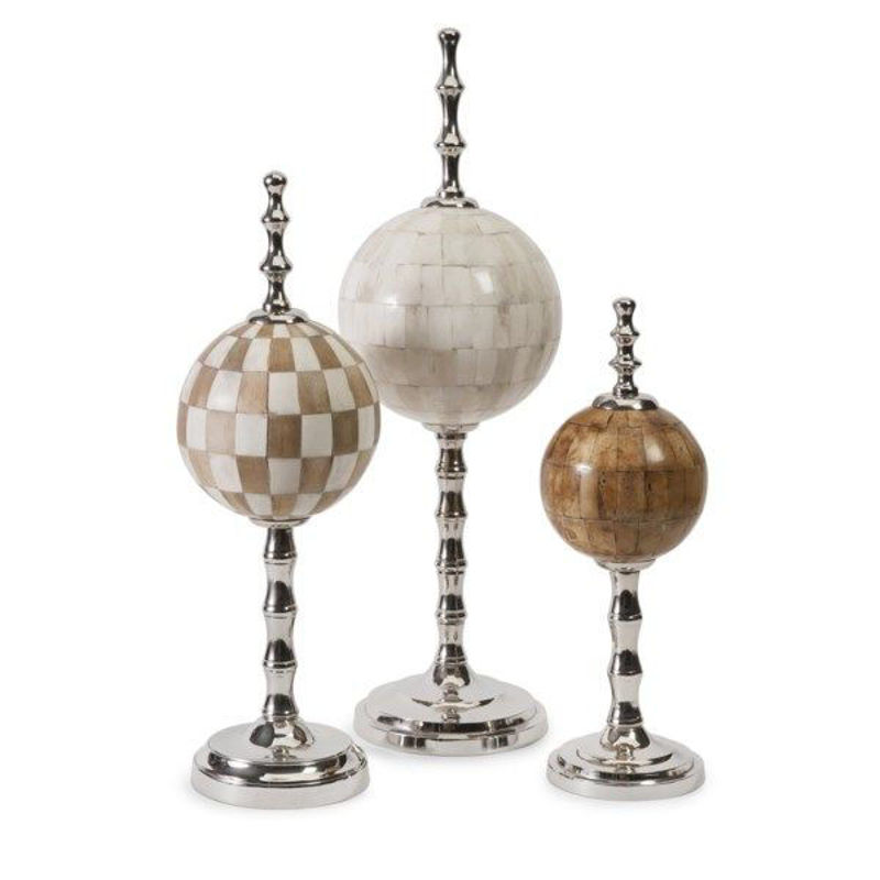 Picture of BONE FINIALS - SET OF 3