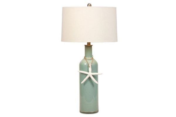 Picture of HALE GLASS COASTAL TABLE LAMP