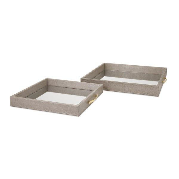 Picture of BETH KUSHNICK MIRRORED TRAYS