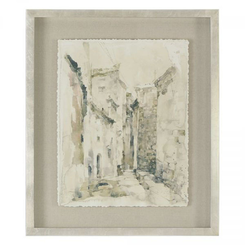 Picture of ALLEY FRAMED PRINT