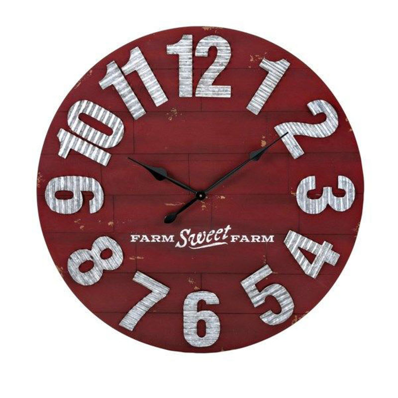 Picture of TY BERRY PATCH WALL CLOCK