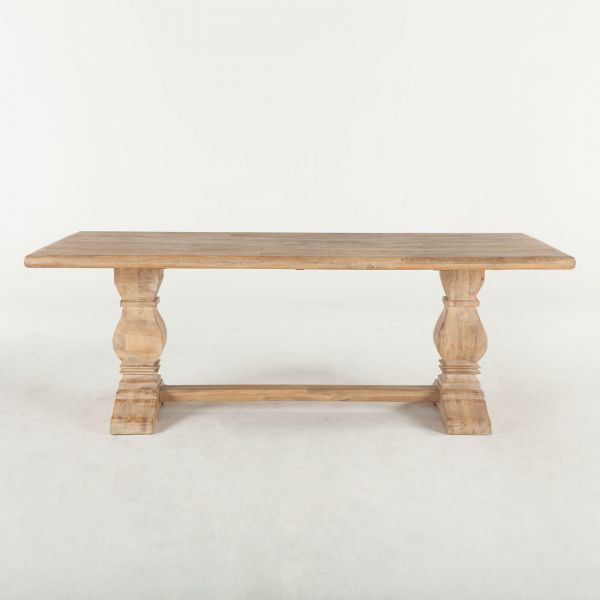 """Picture of CORDOBA SOLID WOOD 84"""" DINING TABLE"""