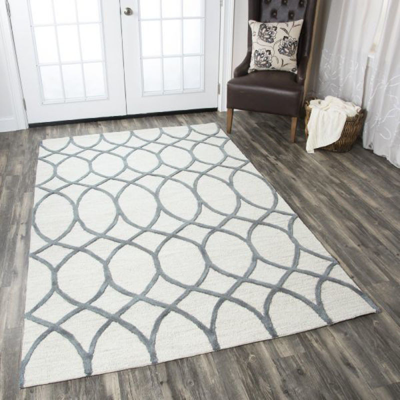 Picture of CATERINE KHAKI WOOL RUG
