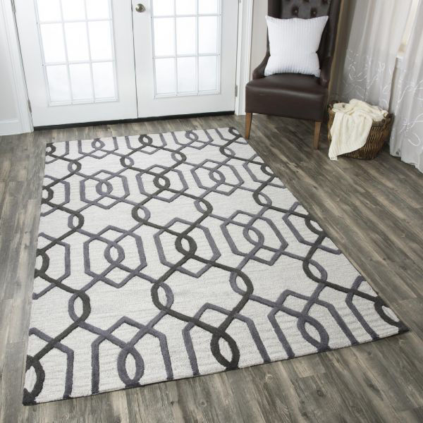 Picture of CATERINE GRAY WOOL RUG