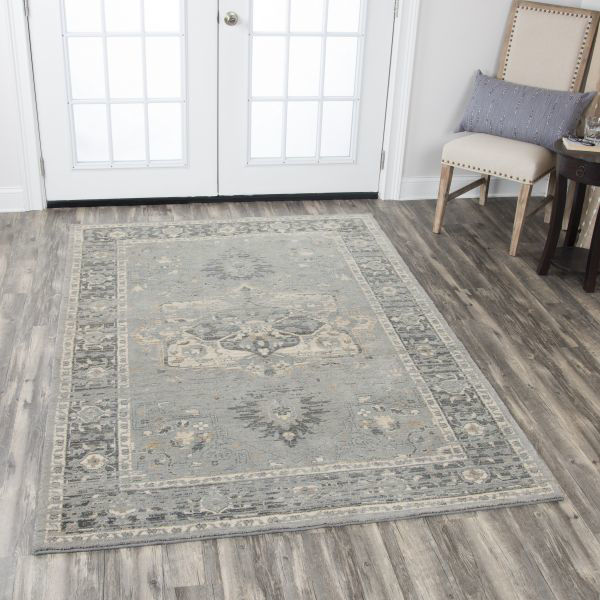 Picture of GOSSAMER GRAY WOOL RUG