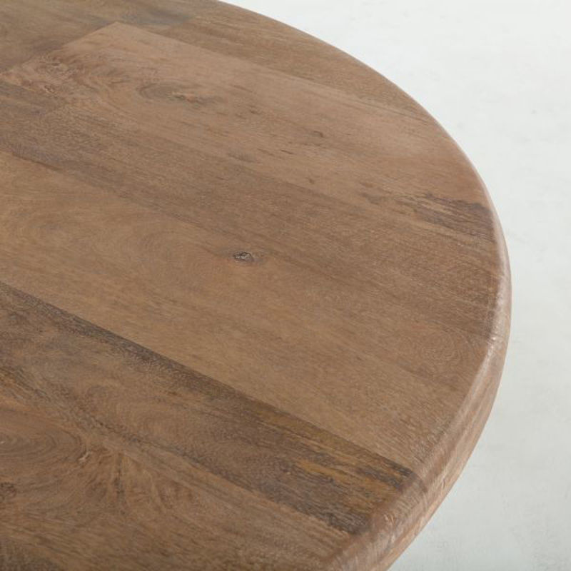 "Picture of CORDOBA SOLID WOOD 60"" ROUND DINING TABLE"