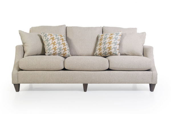 Picture of TWINE AND TWIG SHELLS UPHOLSTERED SOFA