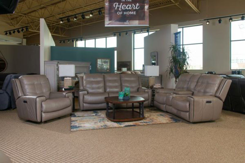 Picture of WICKLOW LEATHER POWER RECLINING SET