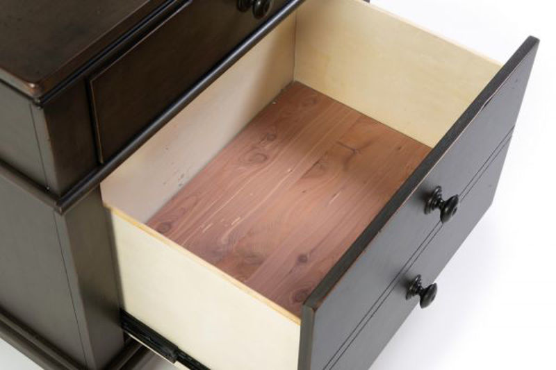 Picture of OXFORD PEPPER CORN 2 DRAWER NIGHTSTAND