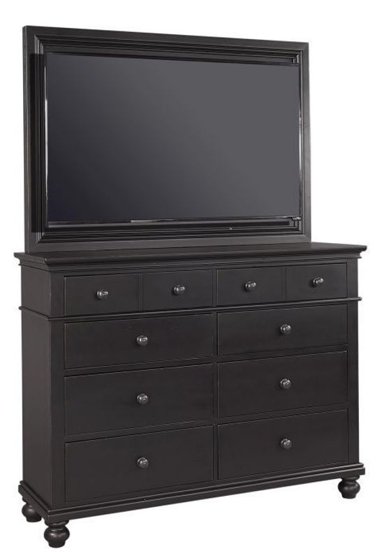 Picture of OXFORD BLACK KING STORAGE BED