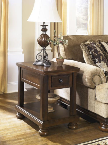 Picture of PORTER CHAIR SIDE TABLE