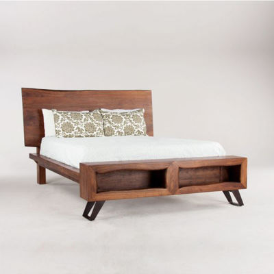 Picture of MELBOURNE LIVE EDGE QUEEN BED