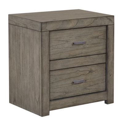 Picture of MODERN LOFT 2 DRAWER NIGHTSTAND